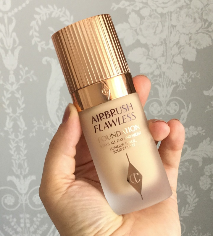 Charlotte Tilbury Airbrush Flawless Finish Foundation Review
