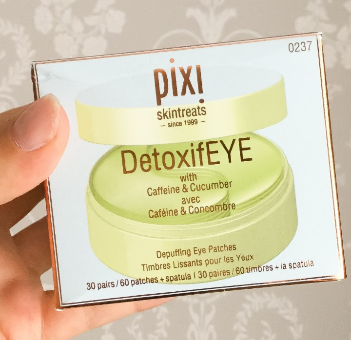 PIXI DetoxifEYE Depuffing Eye Patches Review