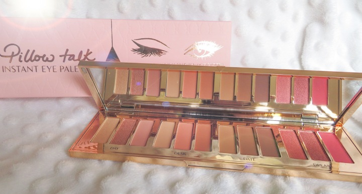 Charlotte Tilbury Pillow Talk Limited Edition Instant Eye Palette Review