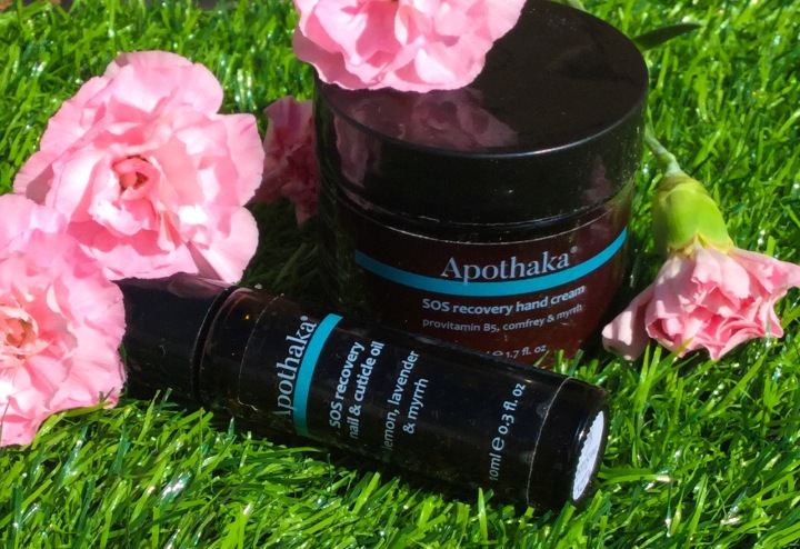 Tender Loving Hand Care – Apothaka SOS Recovery Hand Cream + Cuticle and Nail Oil Review