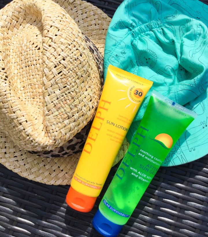 Suns out, Suncream on! Delph Suncare Review