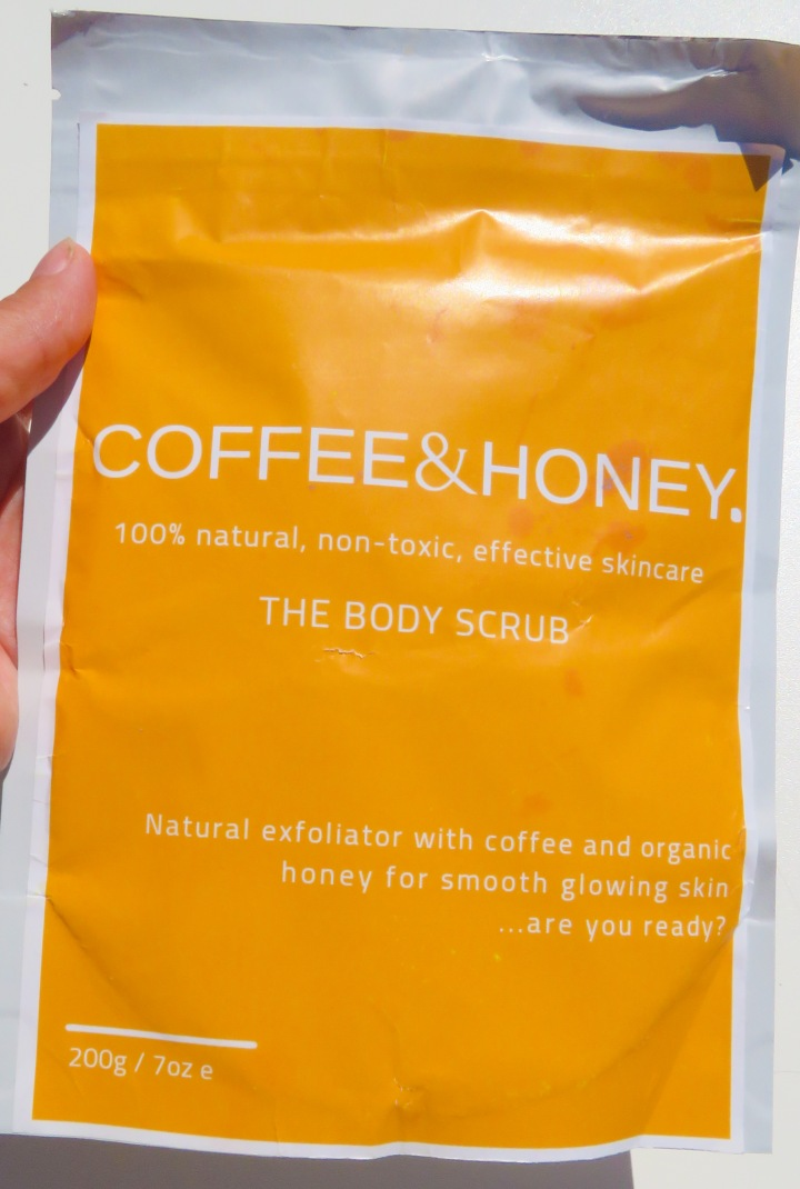Coffee Lover? Coffee and Honeycare Body Scrub Review