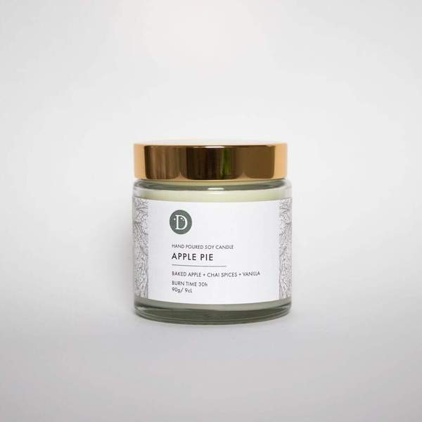 Apple Pie Soy Candle from £5.50