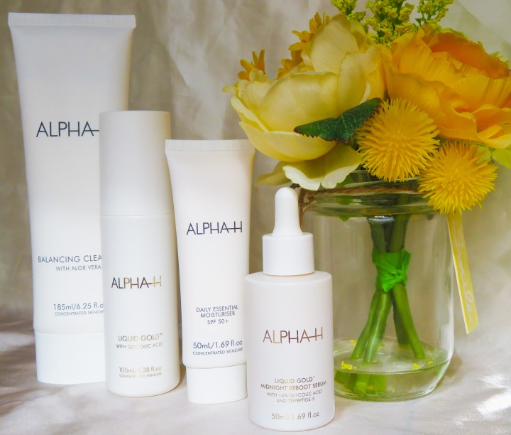 Glowing Skin This Spring! Skincare Routine with Alpha H